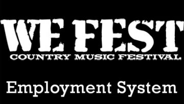 WE Fest Employment System